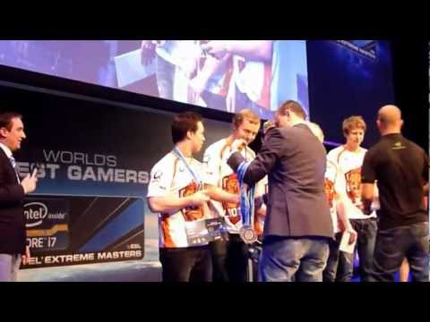 World Best Gamers Counterstrike @ ESL & IEM Arena, CeBit 2012