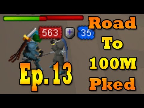 """Runescape Soft Pillow """"Road to 100M Pked"""" – Ep. 13"""