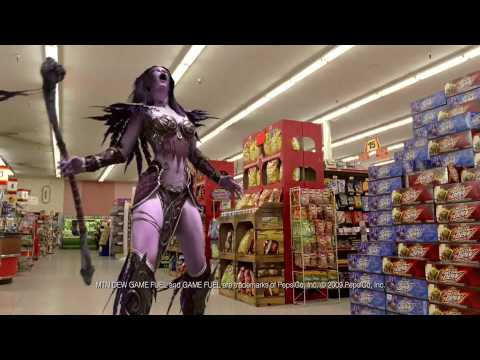 World Of Warcraft Mountain Dew Game Fuel Commercial