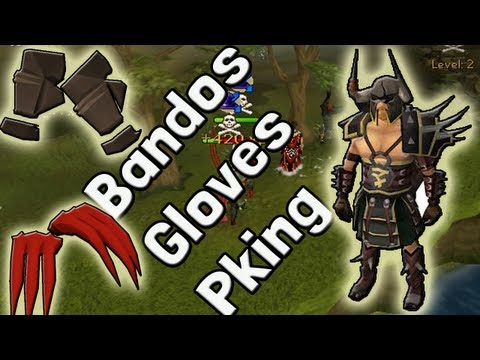 Pk K1n9 5 Runescape High Risk Bandos Gloves |Ags|Dragon Claws Pking Commentary