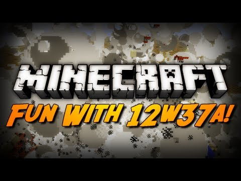 Minecraft: Fun With 12w37a! (Infinite Forest Growth / TNT Explosions & More!)