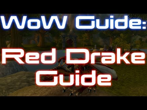 ★WoW Guide – Red Drake Guide – Easy Flying Mount to Obtain! ft. Sensus (World of Warcraft Guide)