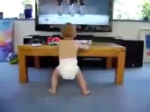 funny babies Baby Dancing to Beyonce- Single Ladies