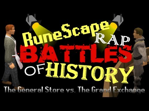 RuneScape Rap Battles of History – The General Store vs. The Grand Exchange