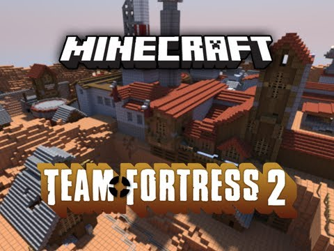 "Team Fortress 2 in Minecraft: ""Dustbowl"" by Hypixel and SethBling"