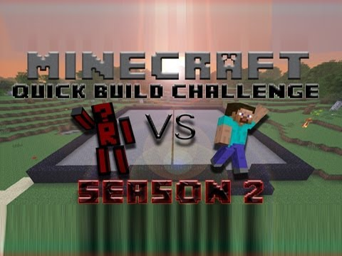 Minecraft Quick Build Challenge – Season 2 Premiere!