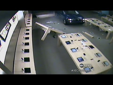iPhone Thefts Caught on Tape
