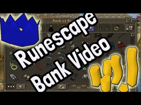 Pk K1n9 5's Runescape Bank Video With Commentary 100m+
