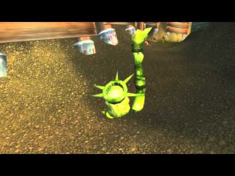 World of Warcraft – Statue of Liberty Easter Egg
