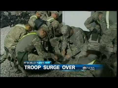WEBCAST: Troop Surge Over