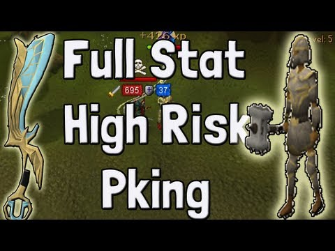 Pk K1n9 5's Runescape High Risking Full Statius Ags Pking With Commentary