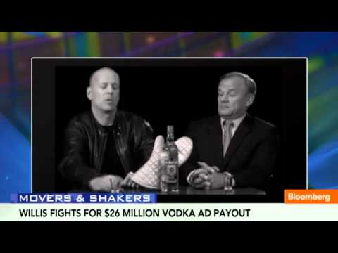 Bruce Willis Fights for Vodka Ad Cash Over Shares