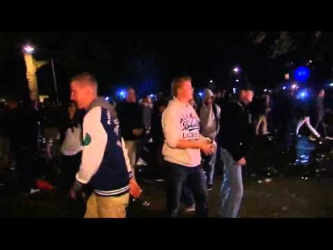 Facebook party sparks riots in Holland