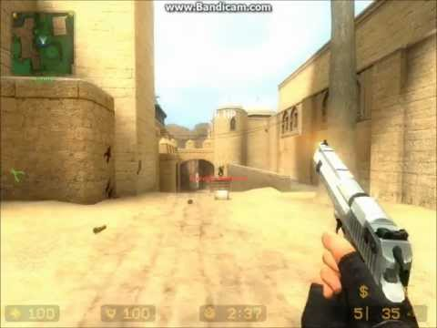 CounterStrike: Source : How to use a pistol -HD