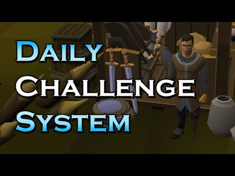 RuneScape Update – Daily Challenge System + Notice Board