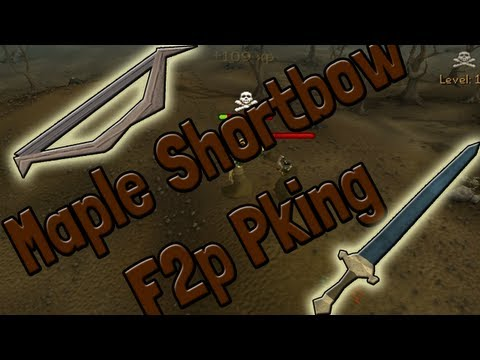 Pk K1n9 5 Runescape Free To Play Range Pking With Commentary Maple Shortbow To Rune 2h Pking