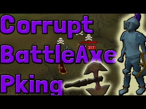 Pk K1n9 5 Runescape Free To Play Pking With Commentary Corrupt Dragon Battleaxe Pking