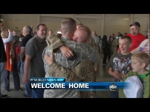 WEBCAST: An Emotional Homecoming for the 713th Engineer Company