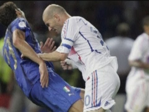 Zinedine Zidane's 2006 World Cup final headbutt statue unveiled in Paris