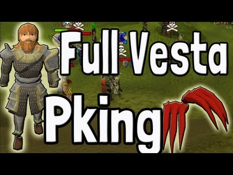 Pk K1n9 5's Runescape Full Vesta Dragon Claws Pking With Commentary 20m+ Pked Loot!