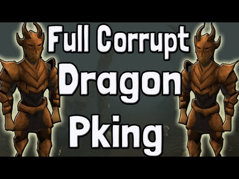 Pk K1n9 5 Runescape High Risk F2P Full Corrupt Dragon Pking With Commentary