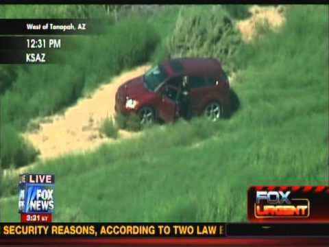 Fox News Car chase in Phoenix/Tonopah AZ ends in suicide 28 sept 2012. * WARNING * GRAPHIC VIOLENCE