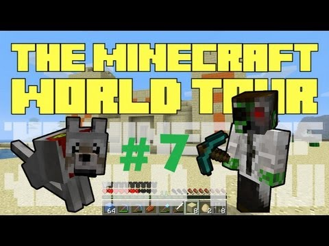 The Minecraft World Tour – #7: Dragon Balls [Dragon Eggs Can Teleport!]