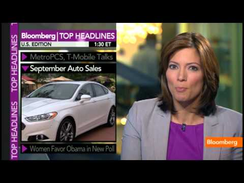 September Auto Sales, Women Favor Obama in New Poll
