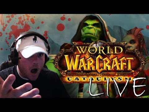 ♔ World of Warcraft – World Of Warcraft Livestream | LFR Dragon Soul Raid | 85 Druid | Cast #7