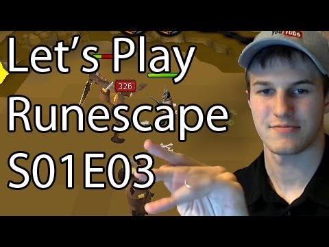 Let's Play Runescape – Insta-Kill Darts, Pjing To Be Fixed!, Magic, & 2-Handed Bowling S01E03