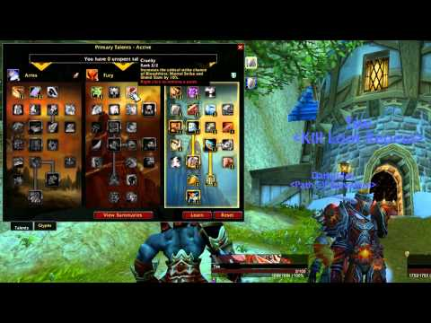 ★ World of Warcraft – Warrior Tank Guide – Talents And Glyphs by Tsw – TGN