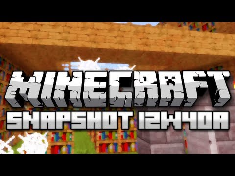 Minecraft: Witch Huts, Swamp Slimes, Superflat Changes, and More! (Snapshot 12w40a)