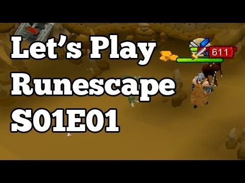 Let's Play Runescape – Zerker Maxing!, EoC Talks, Voices, + School S01E01