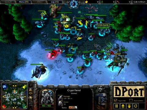 WarCraft 3: 2v2 Dhc.Cechi (UD) + Dhc.Sunrise (NE) vs Home (HU) + Duck (OC) – WC84