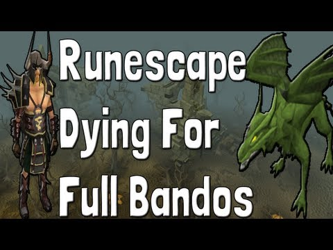 Runescape Dying For Full Bandos+Dragon Claws Bot Killing