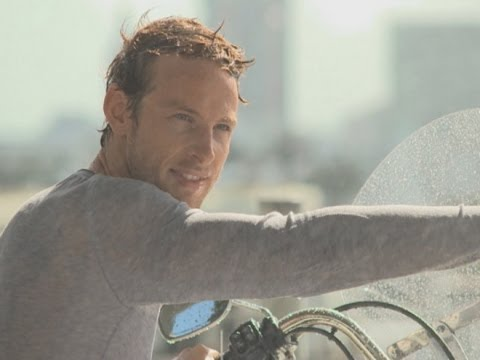 Jenson Button channels James Bond for Hugo Boss photoshoot