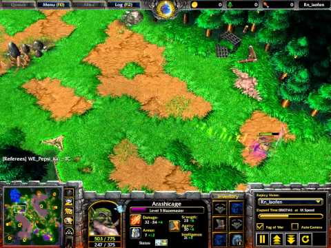 Fly (Orc) vs WFZ (UD) – G1 – WarCraft 3 – WC216