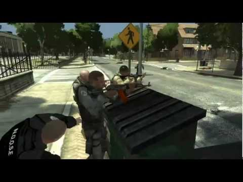 GTA IV 4 Khyber Pass AK – Kalashnikov – AKMS Weapon + Liberty City Defender Ped MOD