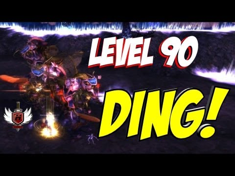 Hobbs Level 90 Ding Mists of Pandaria MoP Paladin World of Warcraft (gameplay/commentary)