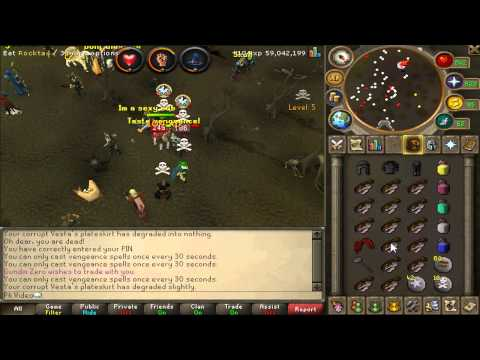 Runescape: Chris Archie's Pk Commentary – Claws to Jamal!