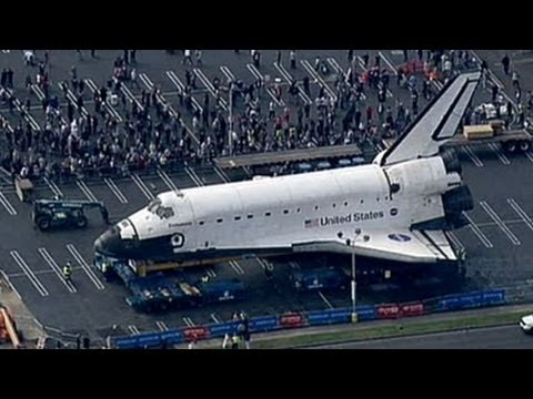 Space Shuttle Endeavor to Reach Final Resting Place; Retired Ship Makes Way Through Los Angeles