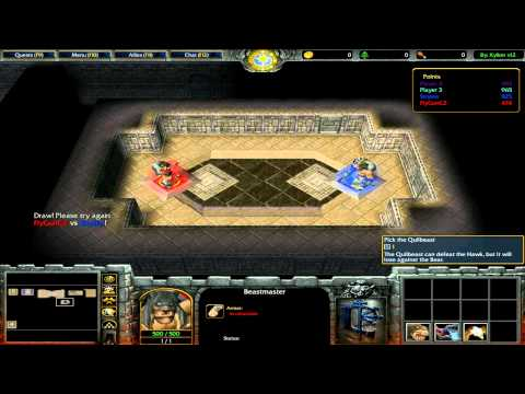 Český GamePlay | Warcraft 3: The Frozen Throne | Mody | Are You Lucker? | High Definition – 720p