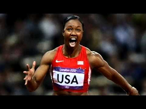 London 2012: US women break record to win 4x100m relay