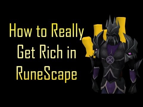 How to Really Get Rich in RuneScape