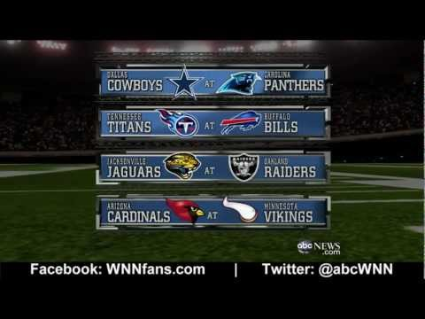 WEEK 7: NFL Picks Competition 2012