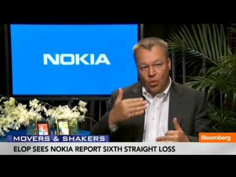 Elop Sees Nokia Reports Sixth Straight Loss