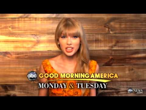 Taylor Swift Takes Over 'GMA'
