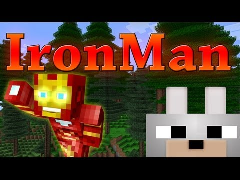 Minecraft Mods – Iron Man 1.3.2 Review and Tutorial