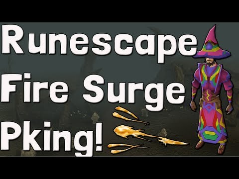 Pk K1n9 5 Runescape Fire Surge Pking With Commentary