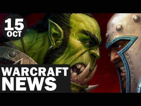 Newsmin – World of WarCraft News – 15/10/12 – Patch 5.1, Brawler's Guild, Fire Kitten & More!